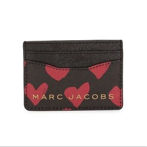 Marc Jacobs Heart Print.Card Case